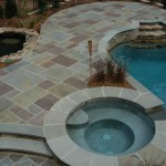 Beautiful Flagstone Pool Deck and Patio North VA