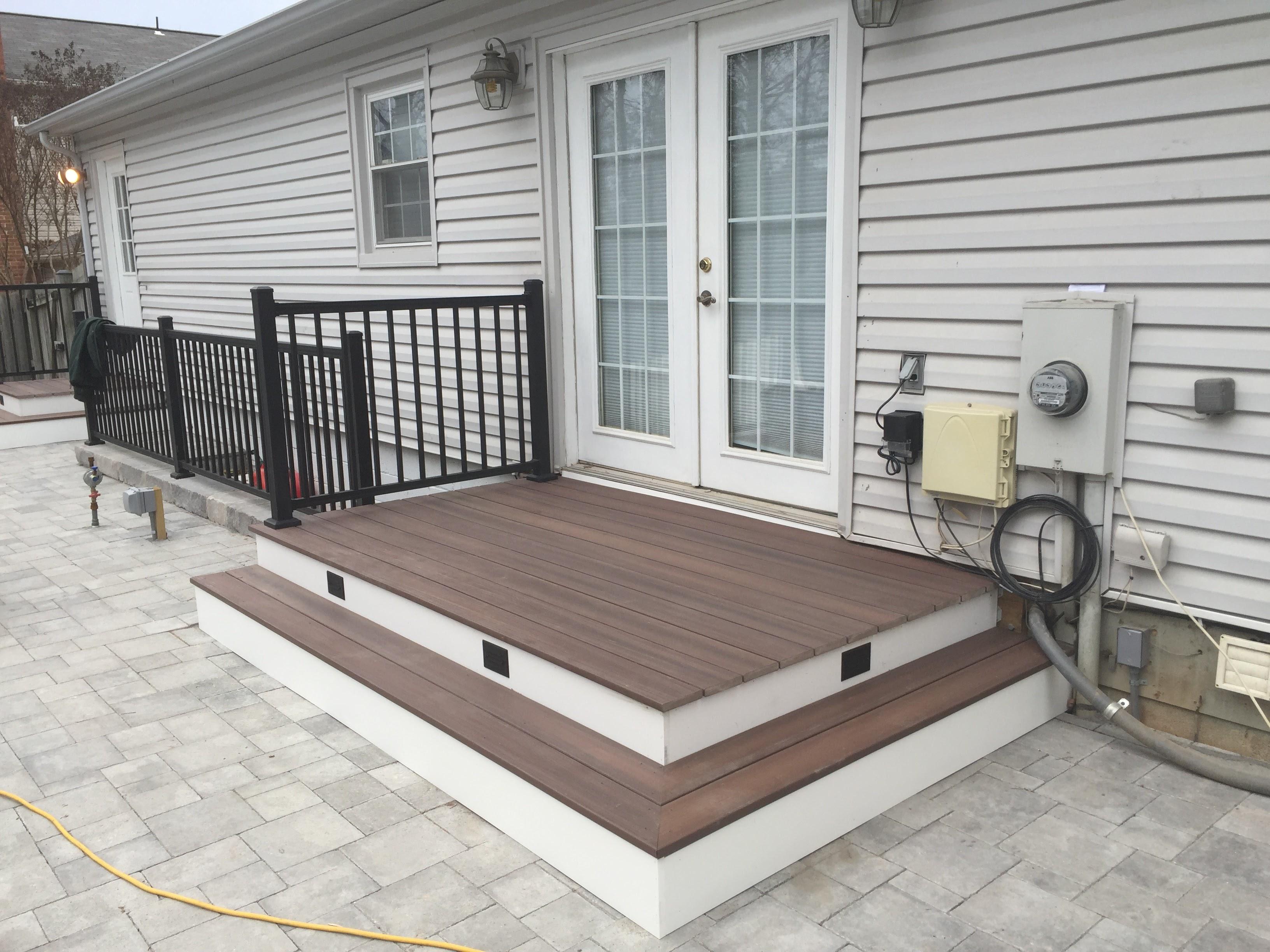 Patio and deck design construction Stone Patios VA Reston VA
