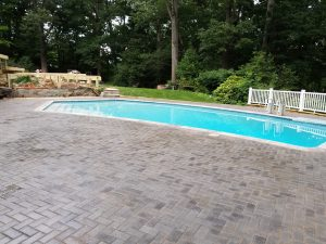 Pavers Brick Pool Deck McClean VA StonePatios VA