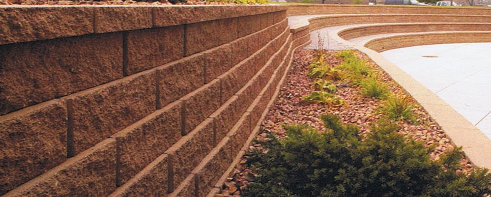 Brick Block Retaining Wall Construction Company North VA