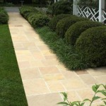 Desert Gold Pattern Flagstone Walkway