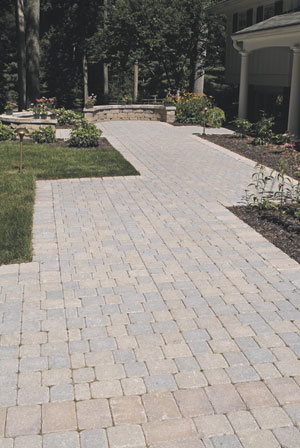 Example Of Nice Long Paver Patio In Northern Va
