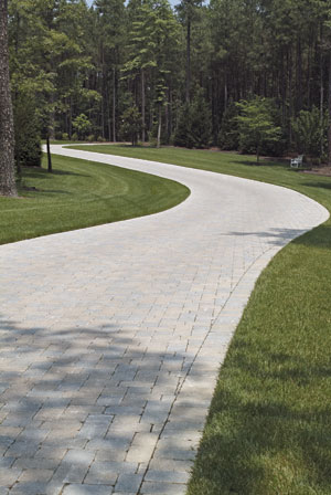 Nice Grey Driveway With Grass In Northern Va