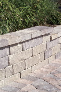 An example of a nice chapel stone retaining wall in DC