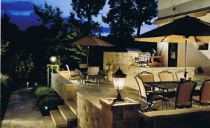 Nice-outdoor-area-at-night-with-our-outdoor-lighting