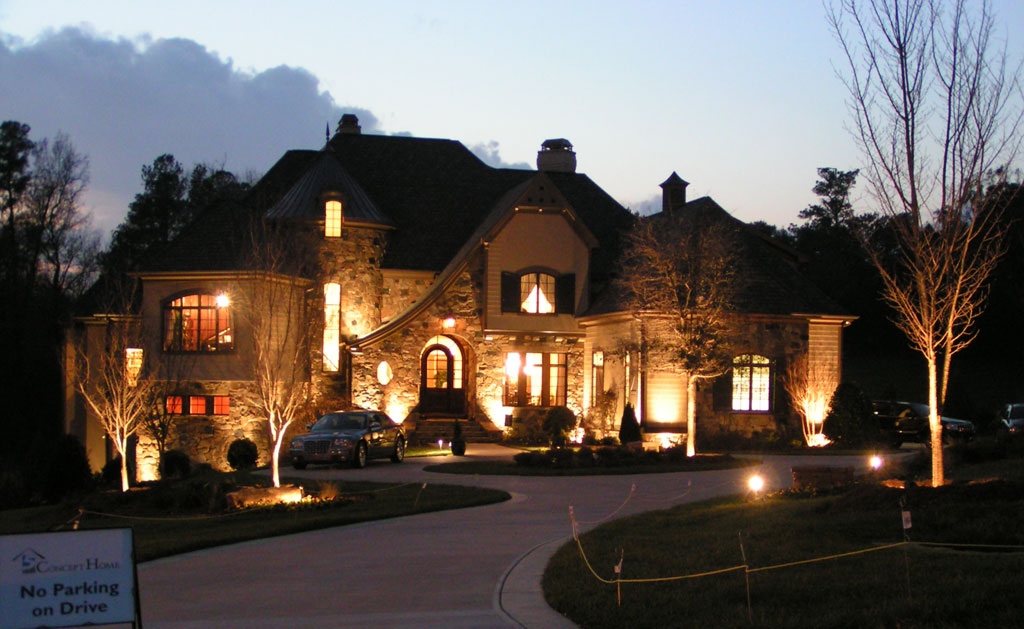 Outdoor lighting company northern virginia for Beautiful home lighting