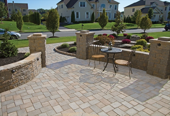 Pavers Patio Work Example