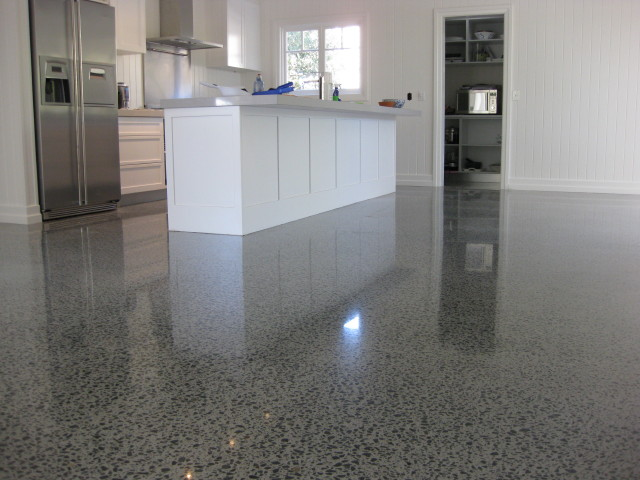 Polished Concrete Flooring : Concrete floor polishing service northern virginia