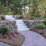 Beautiful Brick Garden Walkway