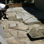 Laying New Flagstone walkway in Northern VA
