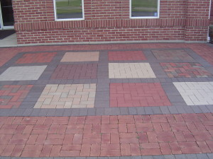 Multi color brick formation