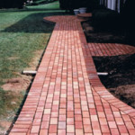 Brick Walkway in Great Falls