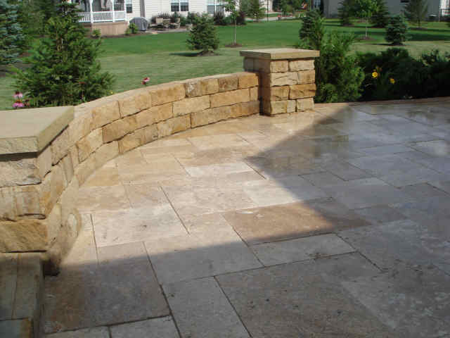 Patio Stone Walls : Miritextiles patio layout alexandria va