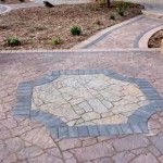 Custom Interlocking Design In Stone