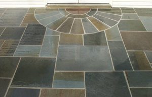 Flagstone Walkway Entrance McLean VA
