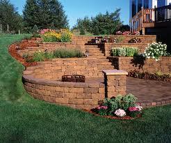 Stunning Retaining Wall Work and Design
