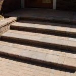 Elegant Traditional Brick Steps