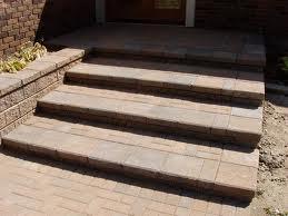 Elegant Traditional Brick Steps