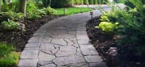 Beautiful Irregular Stone Walkway Northern Va
