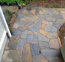 Nice Stone Pathway Around Home
