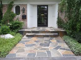 Front Porch Walkway and Steps