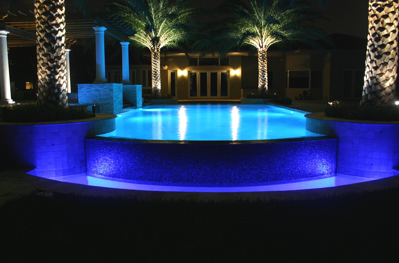 Poolbuilders for Inground swimming pool light fixture