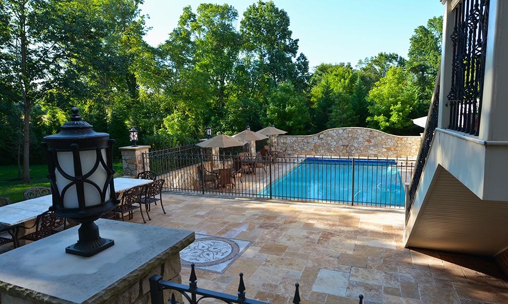 Stone patios construction and design company north va for Pool design virginia