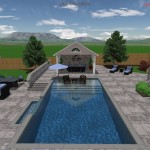 Have to enjoy the mini pool house