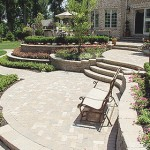 Nice Reston Virginia Stone Patio Job and Hardscape