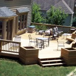 Deck Remodeling In Backyard