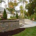 Paver Sitting Wall Sitting Wall Design Construction Northern Va