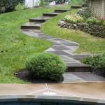 Oakton VA Pool Walkway Leading Up