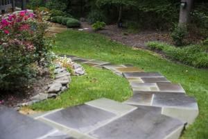 Oakton VA Stone Walkway Design and Construction