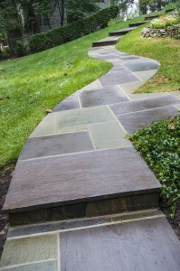 Stone Walkway Step Design Construction Oakton VA