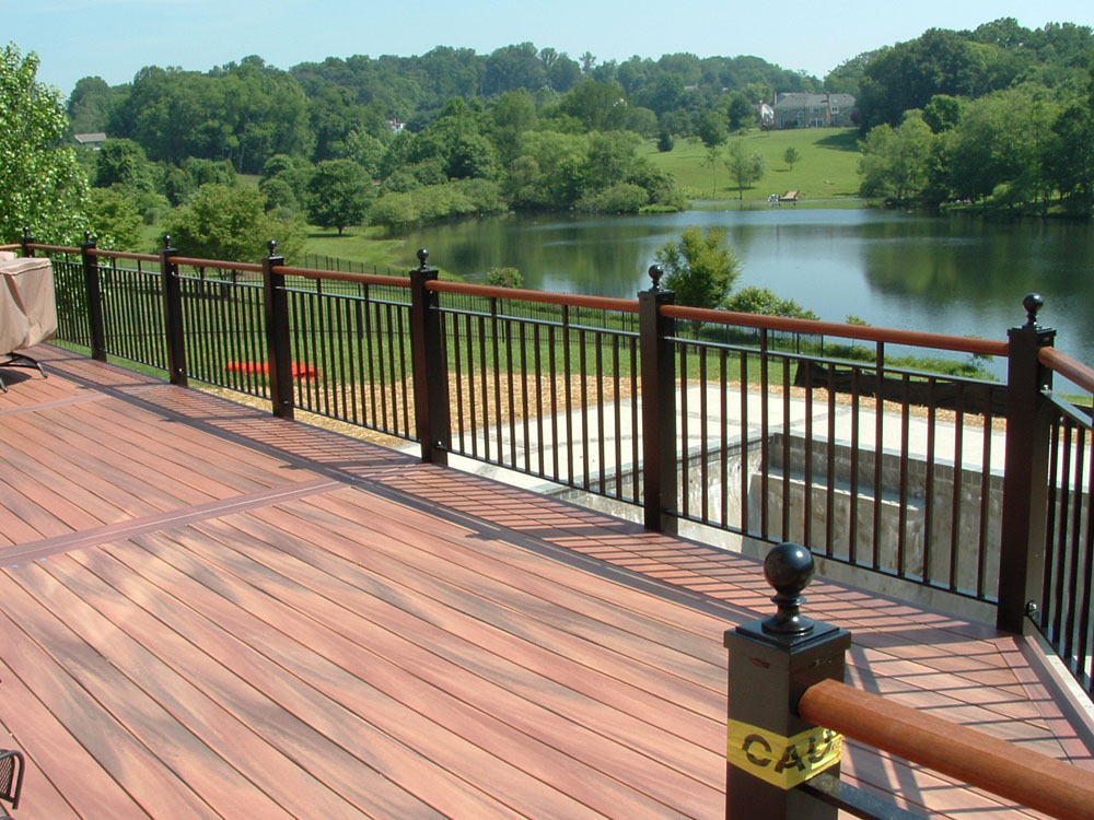 Deck Railing Example North VA