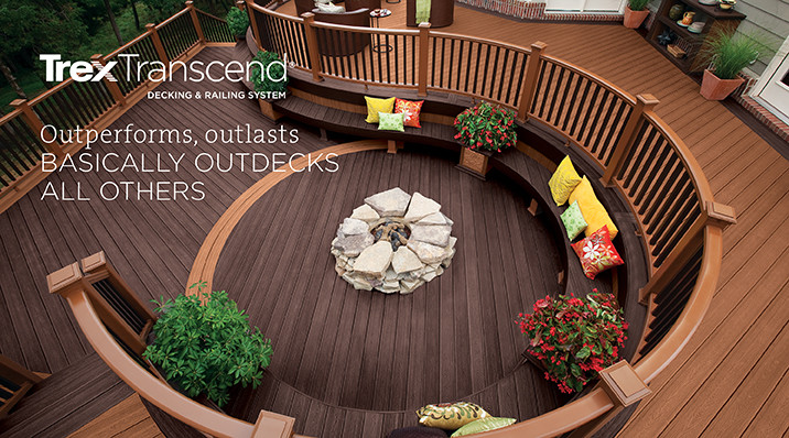Trex-Transcend-Decking-Railing-North VA Deck